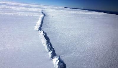 Prossimo distacco ghiacciaio Larsen: nascerà super iceberg