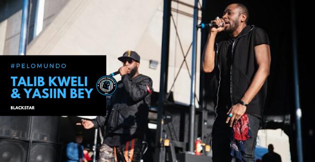 """O álbum """"Blackstar"""" do Talib Kweli e Yasiin Bey produzido por Madlib está em estágios finais"""