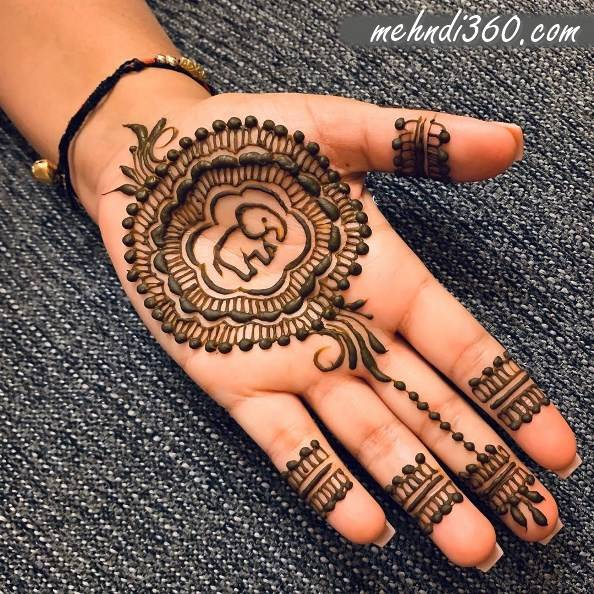 Love  Animal Mehndi Design