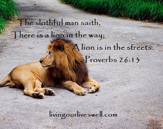 Proverbs 26:13