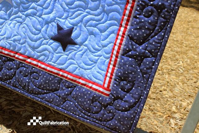 Fireworks corner border motif