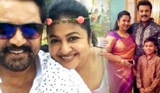 sarathkumar family pictures