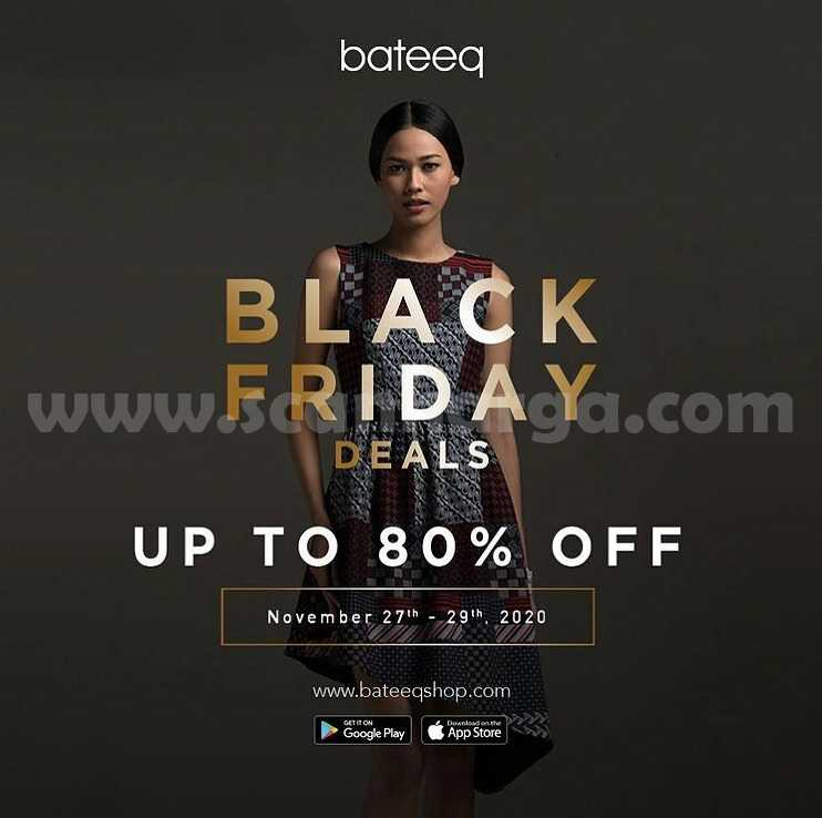 Bateeq Promo Black Friday Deals up to 80% Off