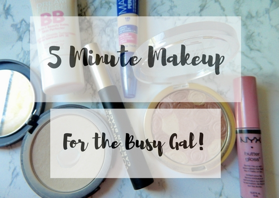 five-minute-makeup-look