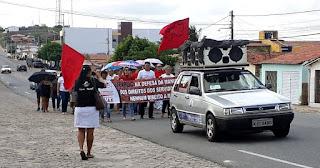 Servidores municipais de Pedra Lavrada anunciam greve a partir de quarta (9)