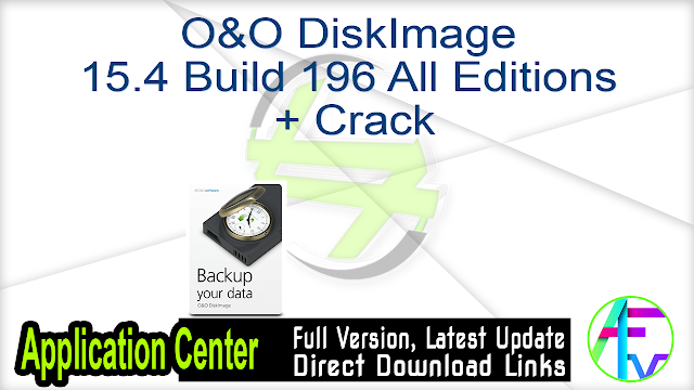 O&O DiskImage 15.4 Build 196 All Editions + Crack