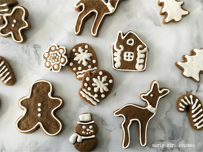 Gingerbread Cookies, Christmas Cookies, Royal Icing, Ginger Lemon Cookies, Gingerbread Cutout Cookies, Christmas Cookie Box