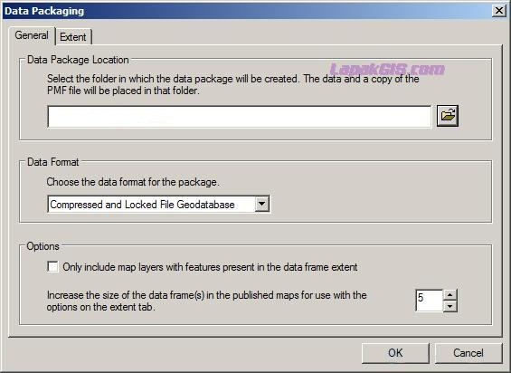 Berbagi Project Peta tanpa Software ArcGIS (Membuat file Arcreader)
