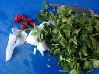 Cortar verduras