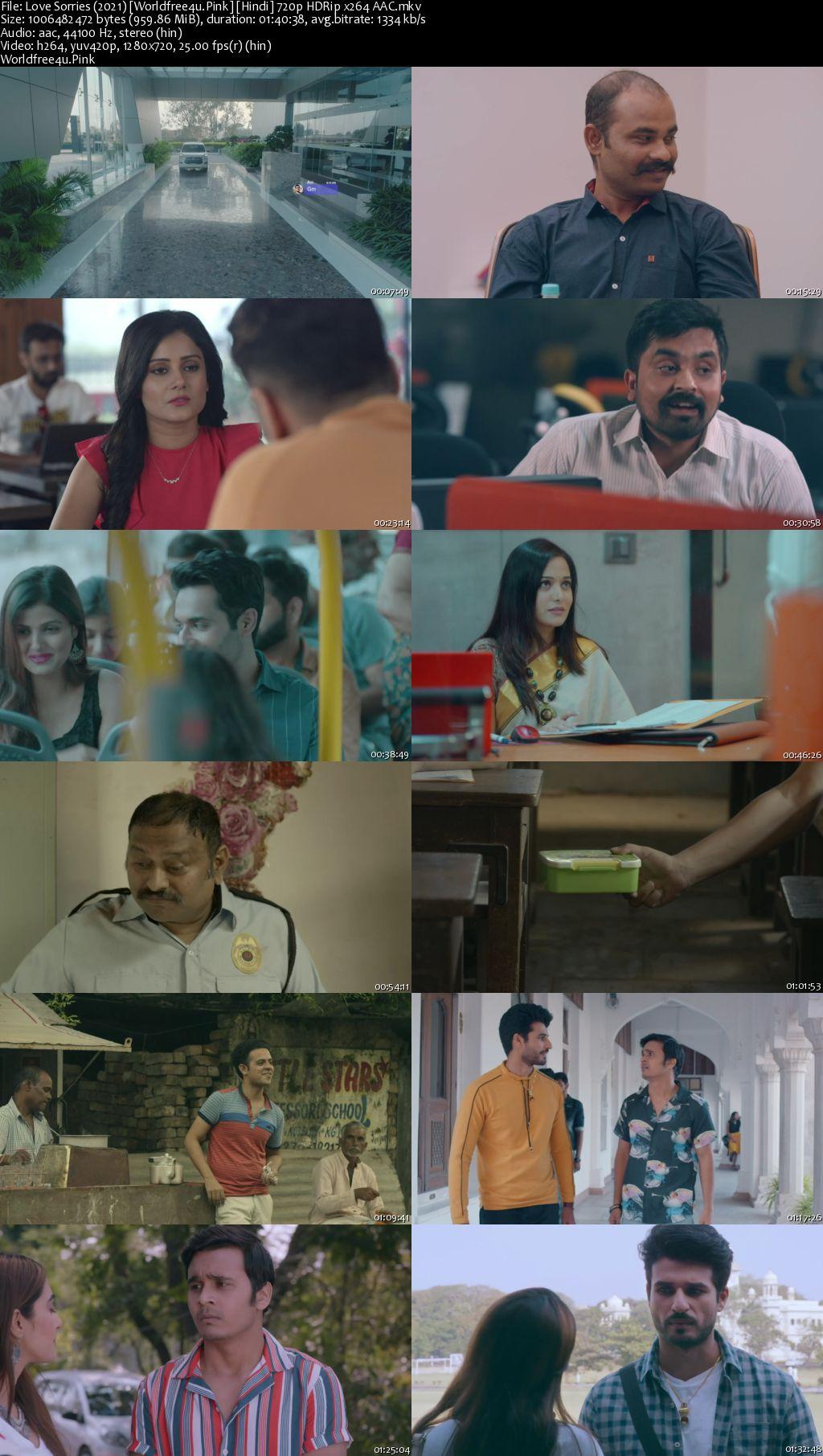 Love Sorries 2021 Hindi HDRip 720p