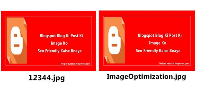 blogger posts ki image ko SEO friendly kaise banaye