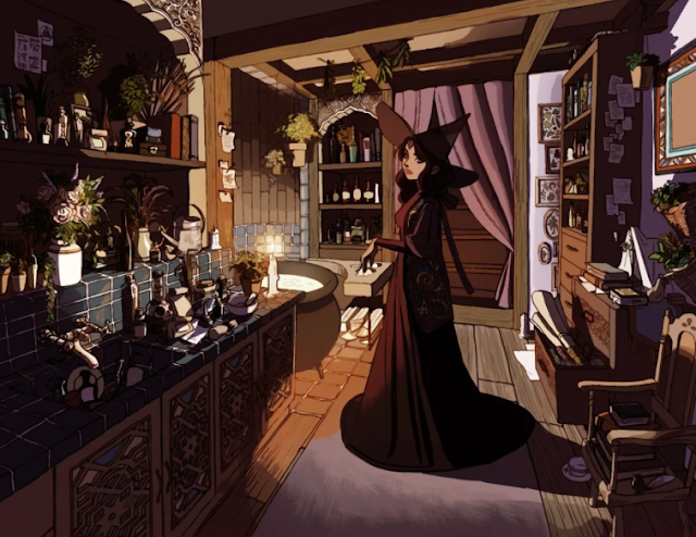 witch room aesthetic