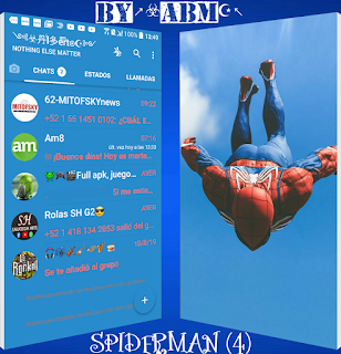 Spider Man Theme For YOWhatsApp & Fouad WhatsApp By ABM