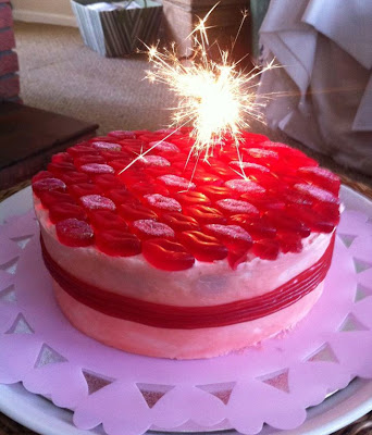 Strawberry Sweetie Birthday Cake Recipe