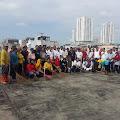 Jumat Bersih, Puncak Gedung Pusat Pasar Medan Jadi Ruang Publik Nyaman Menyenangkan