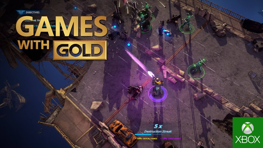 livelock xbox live gold free game