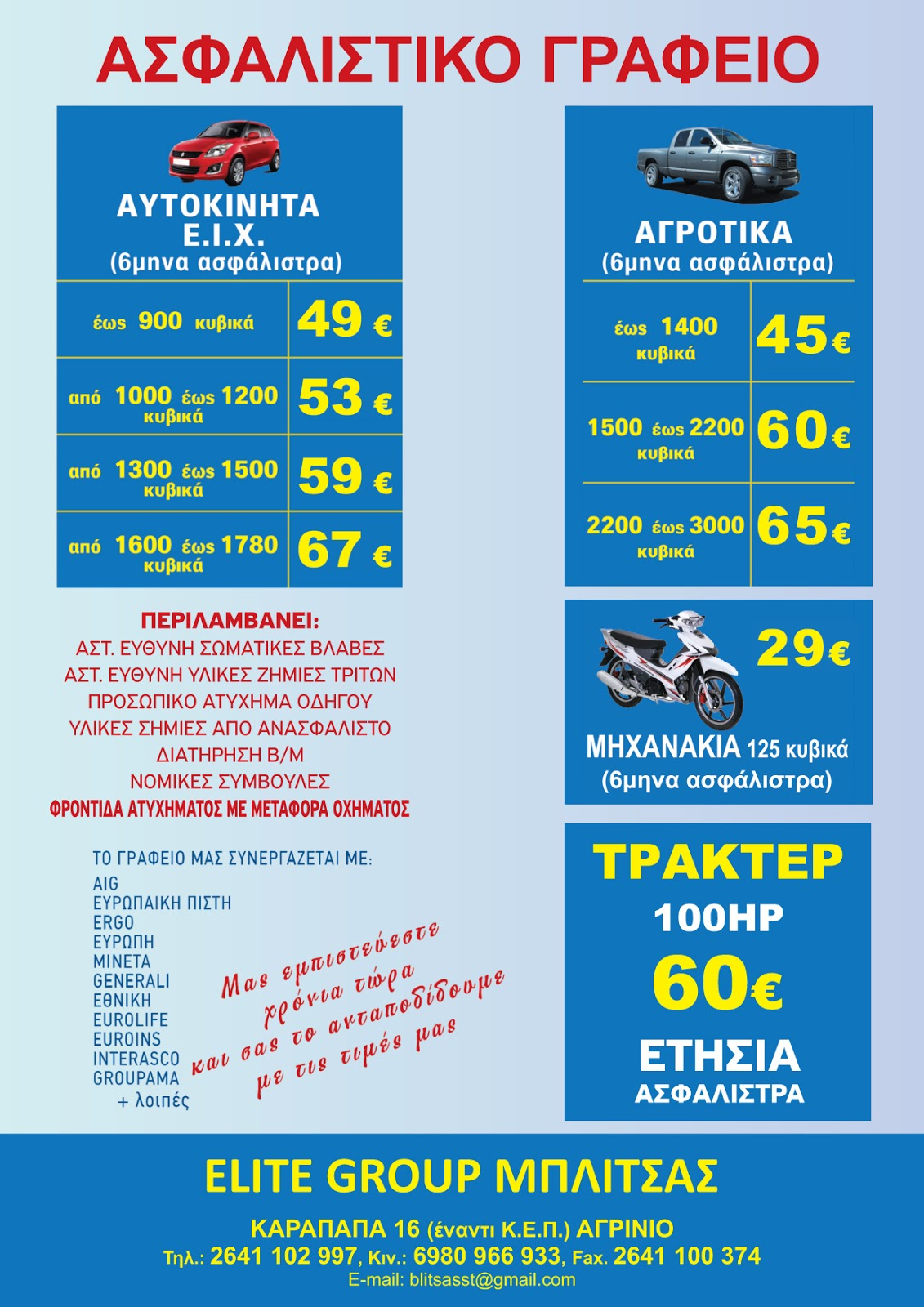0208103d79 Οι φθηνότερες ασφάλειες οχημάτων στην Αιτωλοακαρνανία