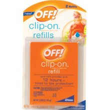 how to refill off clip on