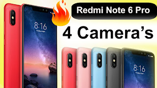 redmi note 6 pro price in india ,specification,redmi note 6 pro launch date in india