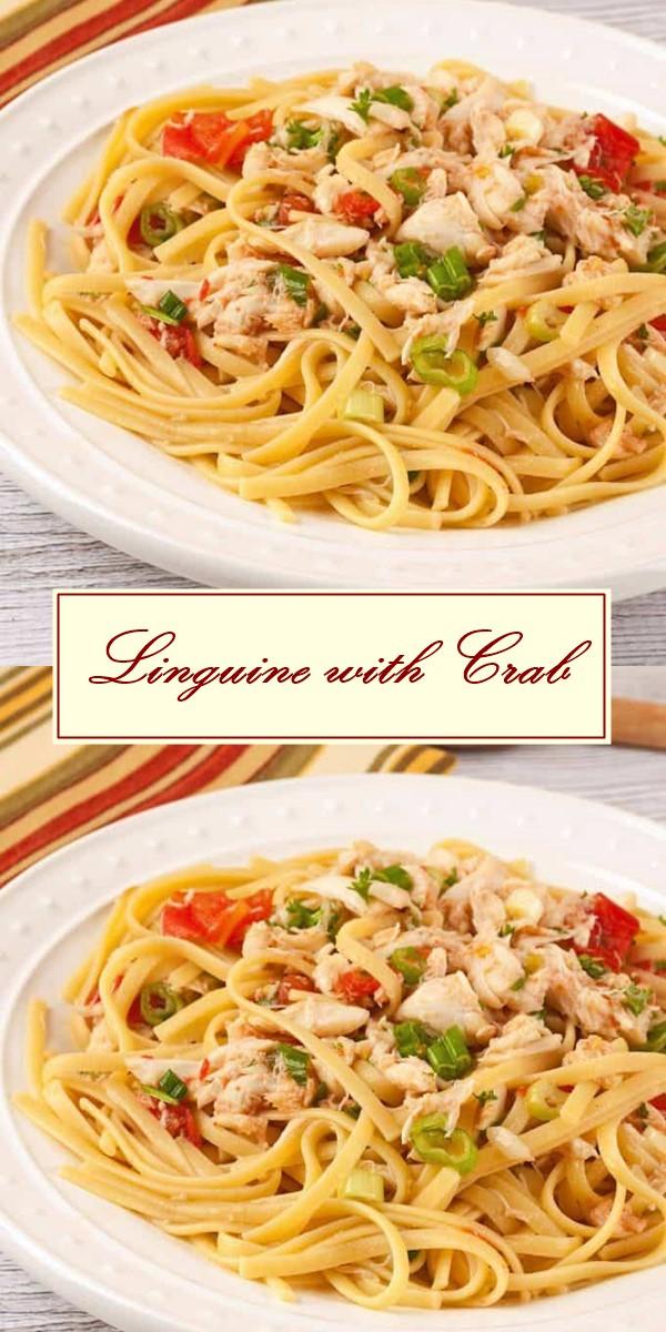 Linguine with Crab #Pastarecipes