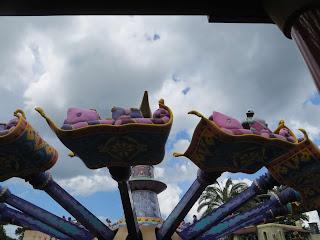 Flying Carpets Magic Kingdom Disney World