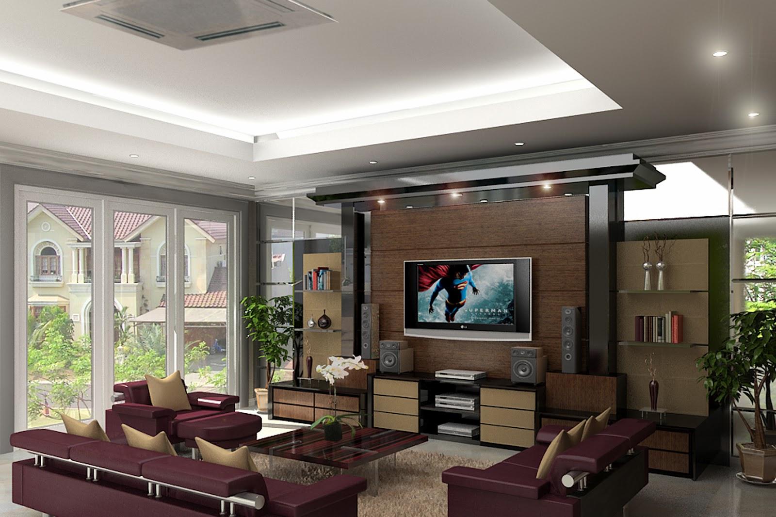 Desain Ruang Keluarga Keren Sobat Interior Rumah