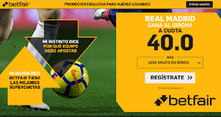 betfair supercuota Real Madrid gana Girona 24 enero 2019