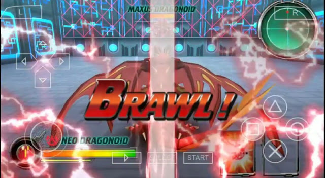 Bakugan Brawlers Defender Of The Core ISO CSO PPSSPP