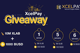 Earncryptos online - Participate in XcelPay Wallet Massive Token Giveaway