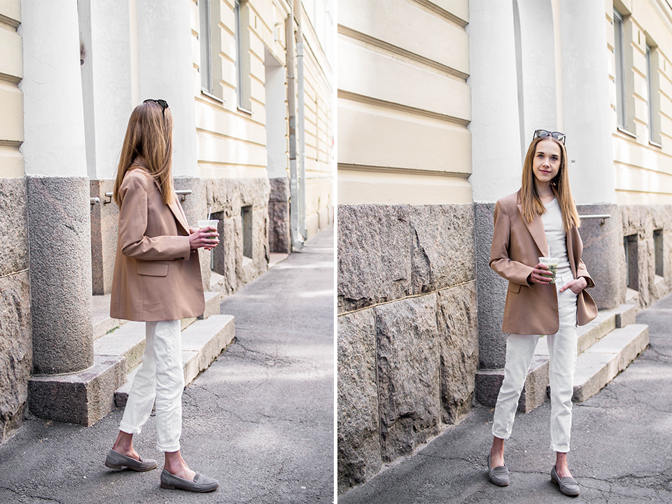 Fashion blogger neutral outfit inspiration - Muotibloggaaja, neutraali asu, inspiraatio
