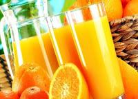 Portakal ve Portakal Suyu Fotoğrafı