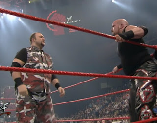 WWE / WWF Rebellion 2000 - JR called the show with Tazz despite the two being sworn enemies months earlier