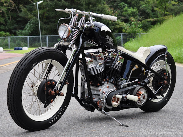 Harley Davidson Shovelhead By Far East Wheels Hell Kustom