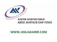 Loker Auditor di Kantor Akuntan Publik Abdul Muntalib & Yunus Cabang Yogyakarta