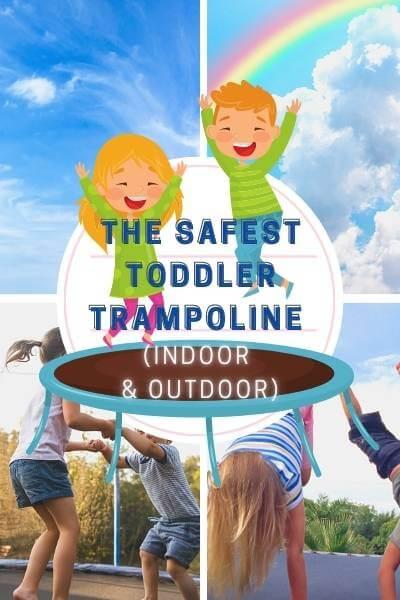 The safest Toddler Trampoline (Indoor & Outdoor)