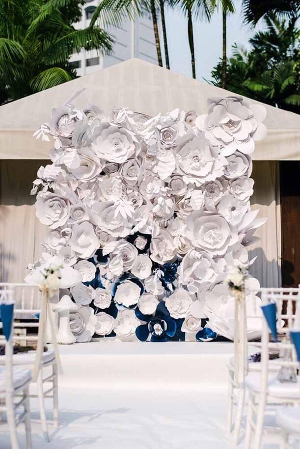Lindas inspirações de flores gigantes para decorar um ambiente