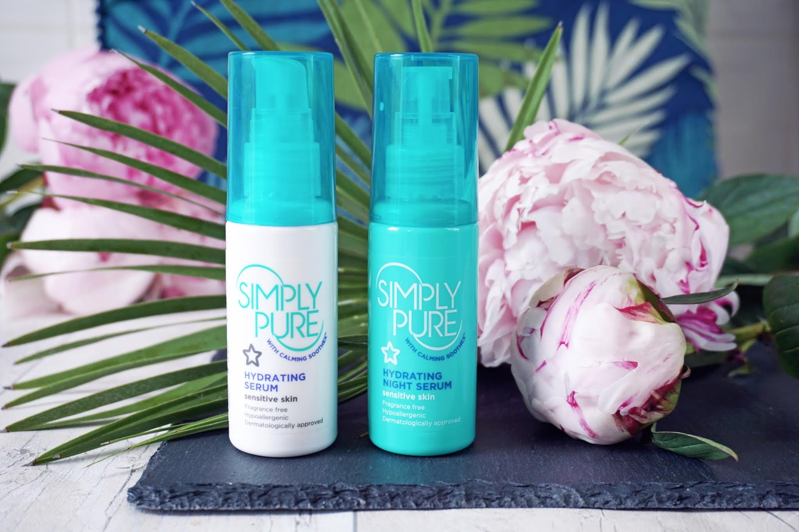 Superdrug simply pure hydrating serums