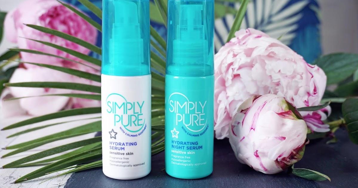Tinh Chất Dưỡng Cấp Ẩm Superdrug Simply Pure Hydrating Serum 50ml