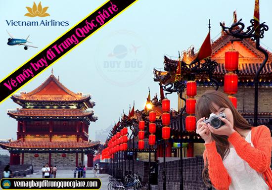 Vé máy bay đi Trung Quốc giá rẻ tháng 1 từ Vietnam Airlines - gọi: 0908 380 888 hoặc 0906 099 992