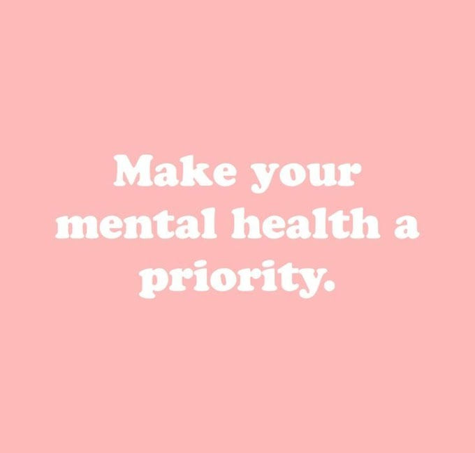 Nothing Is Worth Your Mental Health!