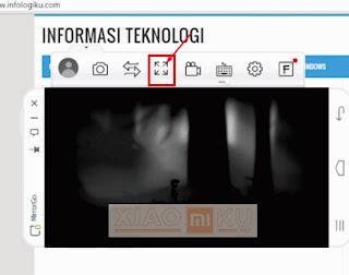 cara screen mirroring ponsel xiaomi ke pc-laptop dengan mirrorgo