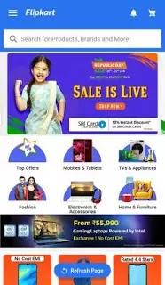 The Republic Day sale on Flipcart, Shop now