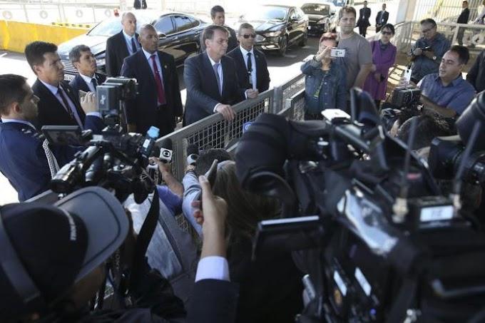 Globo, Band e Folha suspendem cobertura no Alvorada