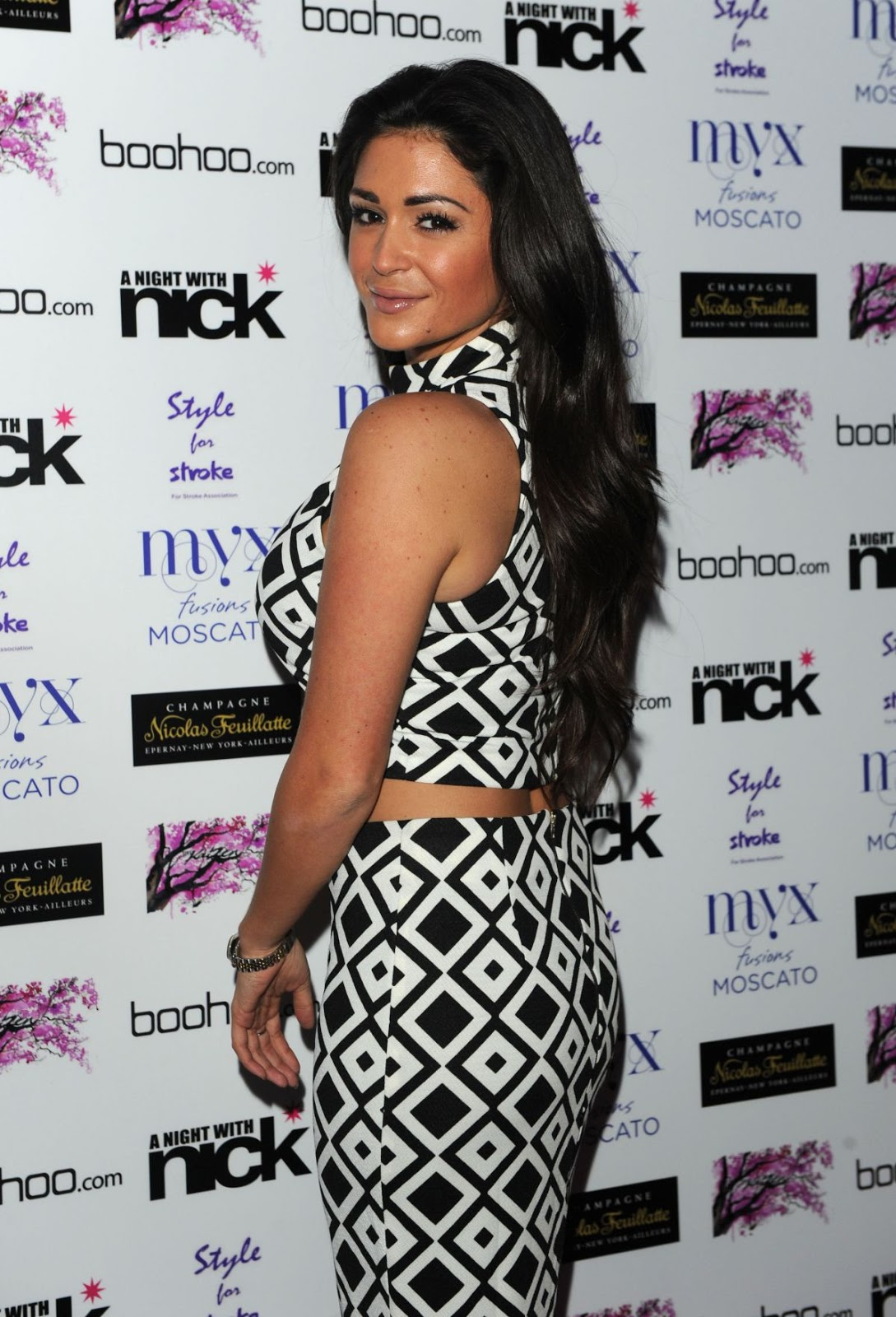 Photos of Casey Batchelor at Night with Nick in London
