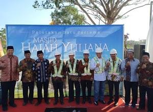 Pengusaha Asal Sumatera Barat Siap Bangun Masjid Muallimin Senilai 30 Miliar