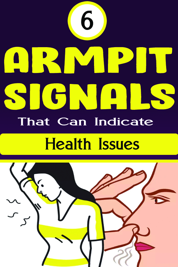 6 Armpit Signals That Can Indicate Health Issues