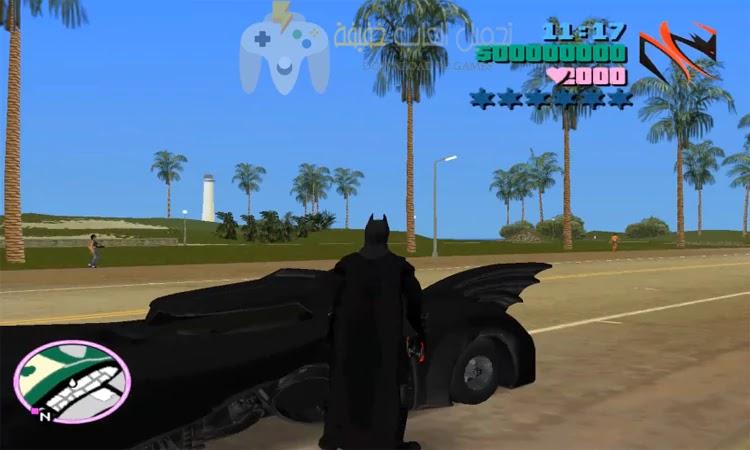 تحميل لعبة GTA Vice City Batman للكمبيوتر مجانا