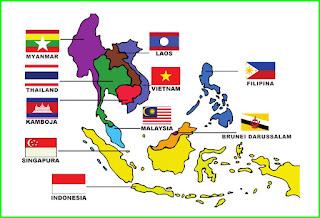 bendera 10 negara asean