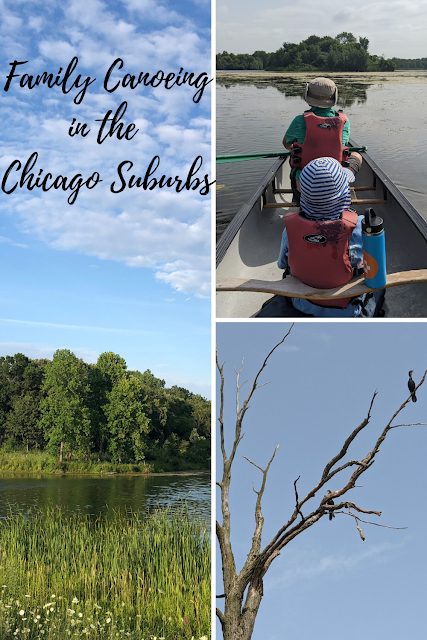One, Two, Three, Switch: Family Canoeing Resources in the Chicago Suburbs