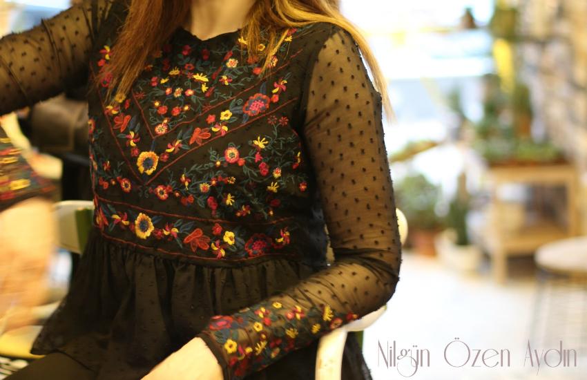 alışveriş-puantiyeli bluz-nakışlı bluz